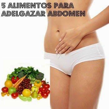 5 alimentos para adelgazar abdomen tu belleza adelgazar y es facil - Alimentos dieteticos para adelgazar ...