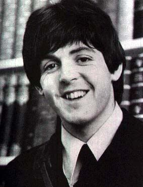 Young Paul Mccartney Smiling