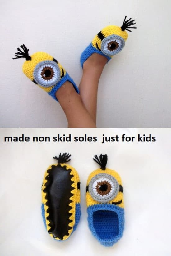 Crochet Minion Slippers For Adults Are Super Cute | Crocheting ...
