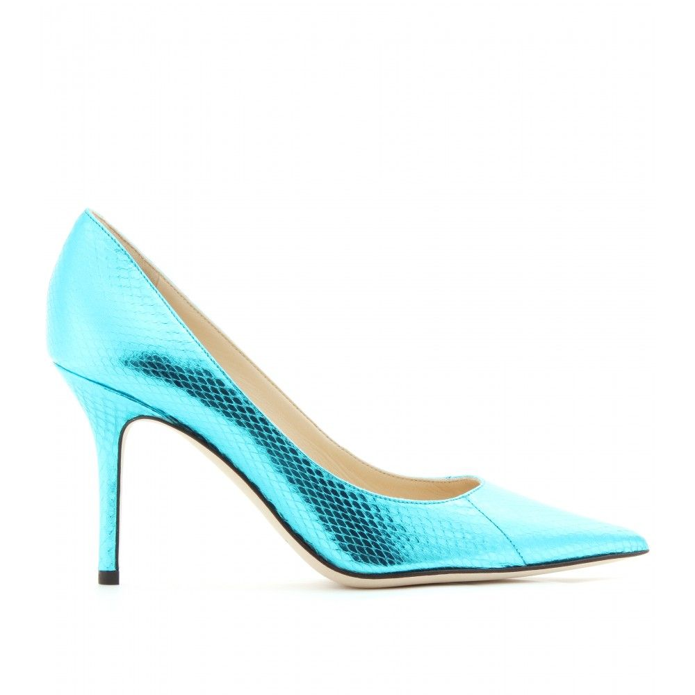 Jimmy Choo Metallic Snakeskin Pumps outlet sast 2014 new cheap online free shipping exclusive buy cheap order GAO9ocOW