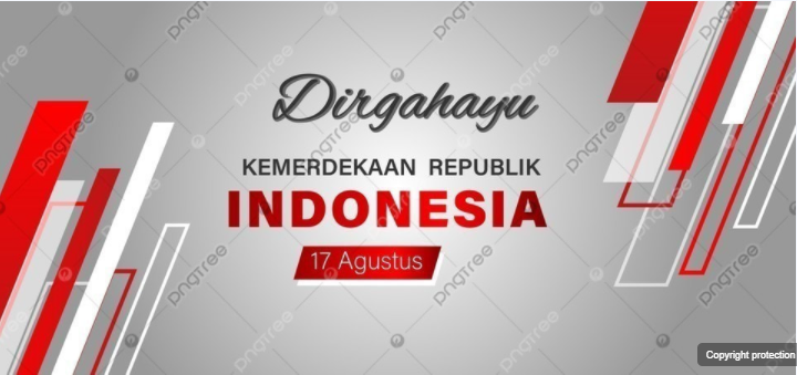 Dirgahayu Ri Layout Background In 2020 Layout Background Indonesia Independence Day