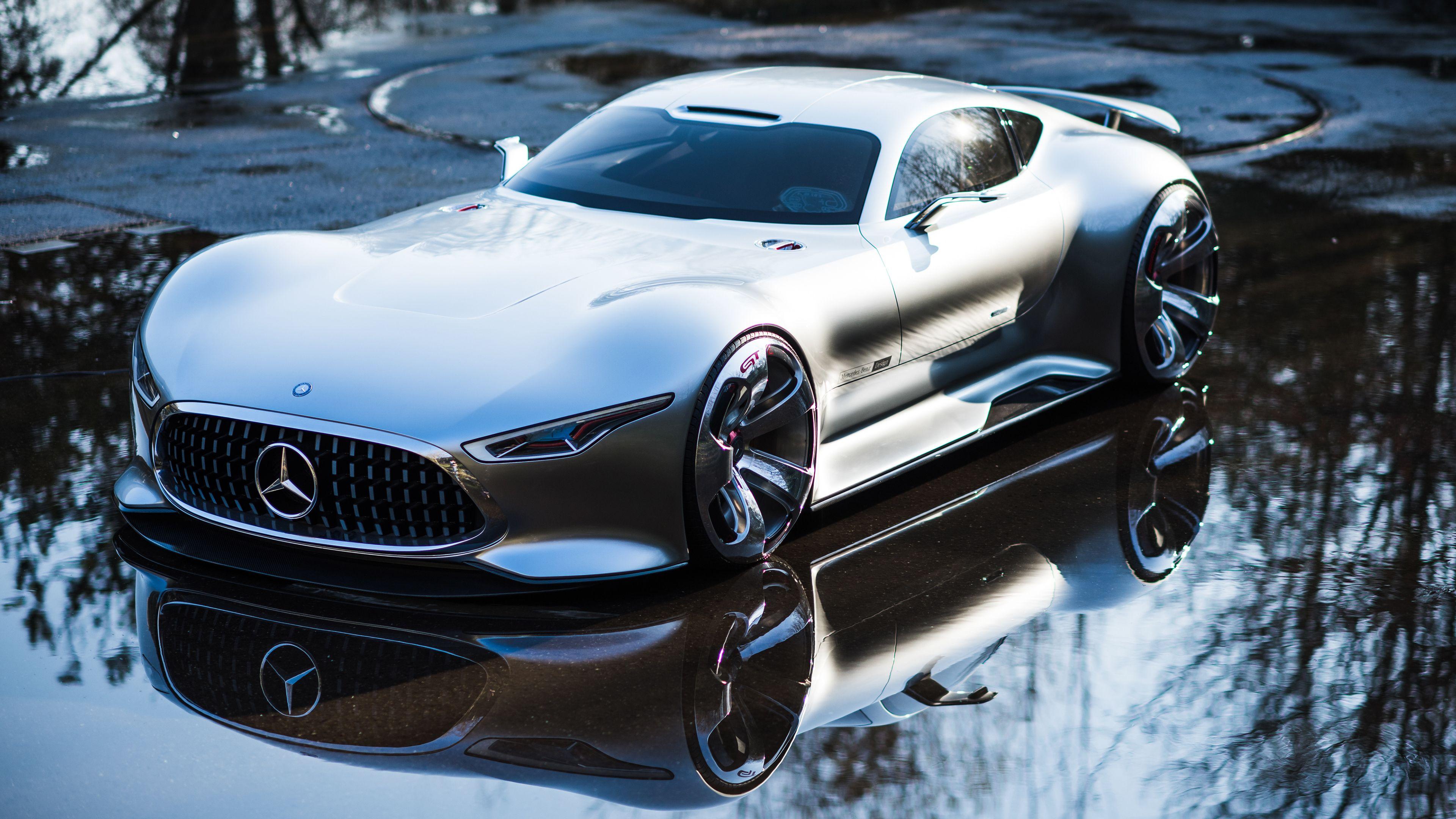Wallpaper 4k Mercedes Benz Amg Vision Gran Turismo 4k 4k