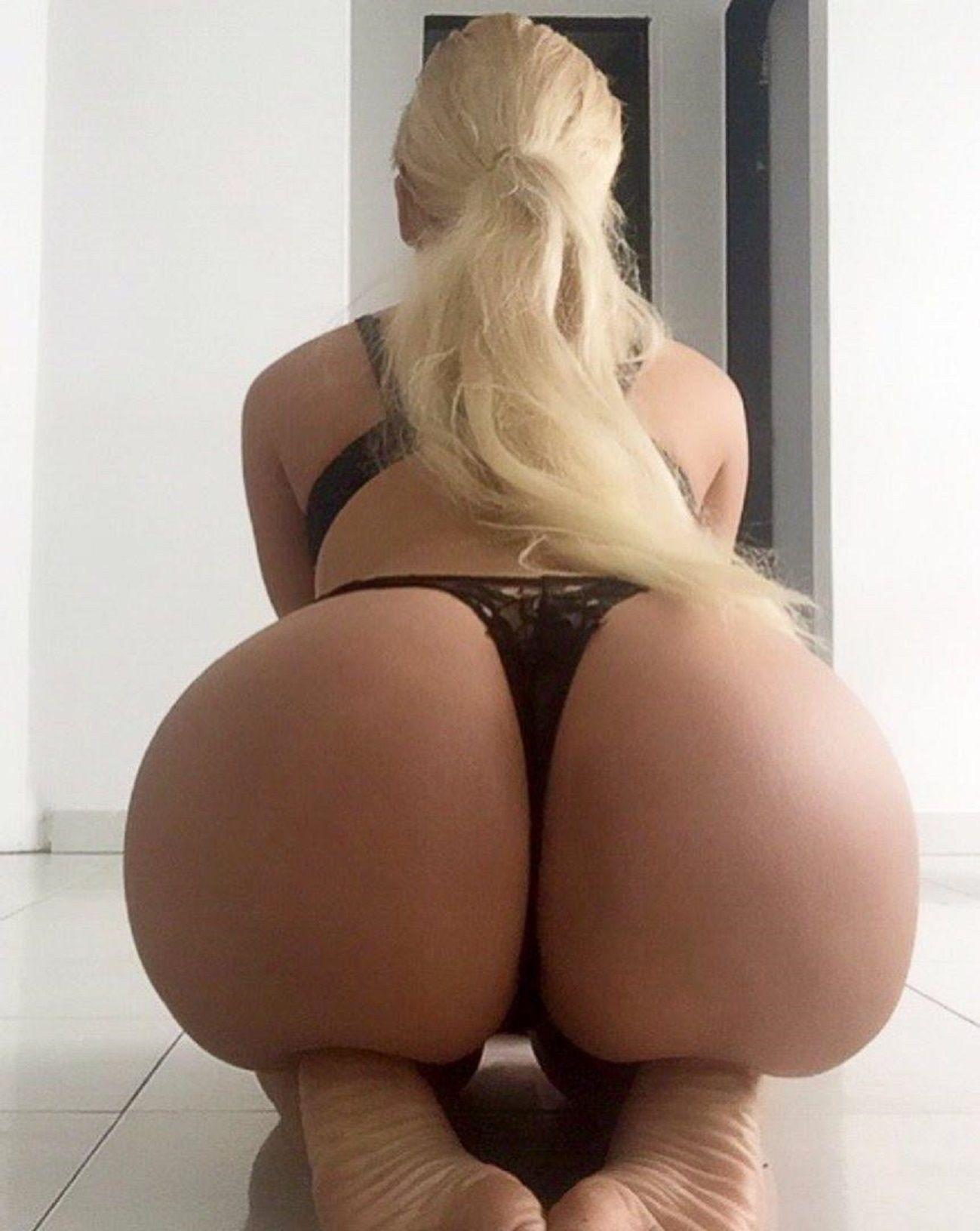 Big booty blonde