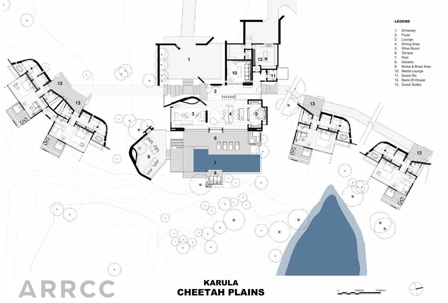 Gallery Of Cheetah Plains Lodge Arrcc 25 Lodges Design Plains Lodge