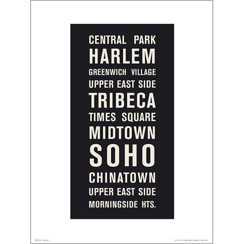 Photo of East Urban Home Framed Poster New York Places | Wayfair.de