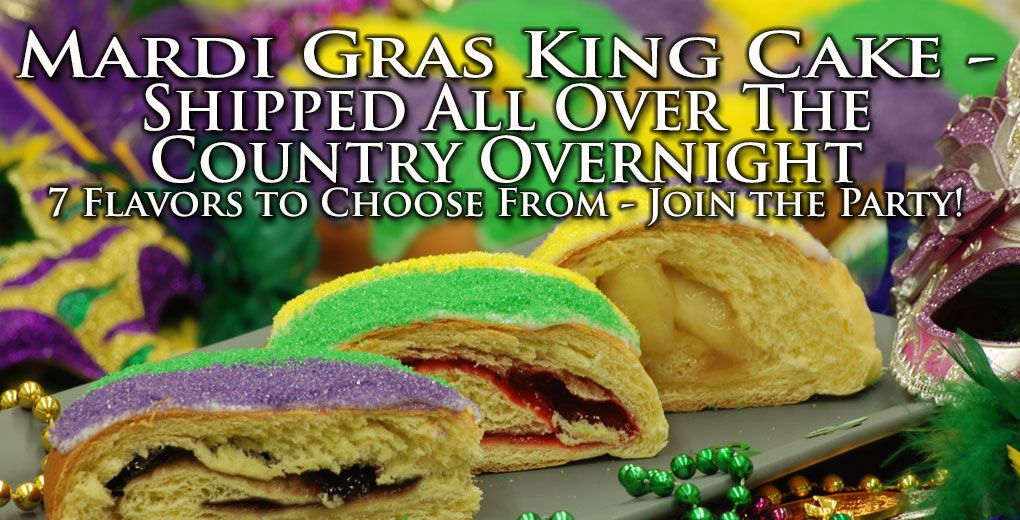 Atwoods Bakery Will Overnight A KingCake To You From Oven Front Door MardiGras EatHereCenla