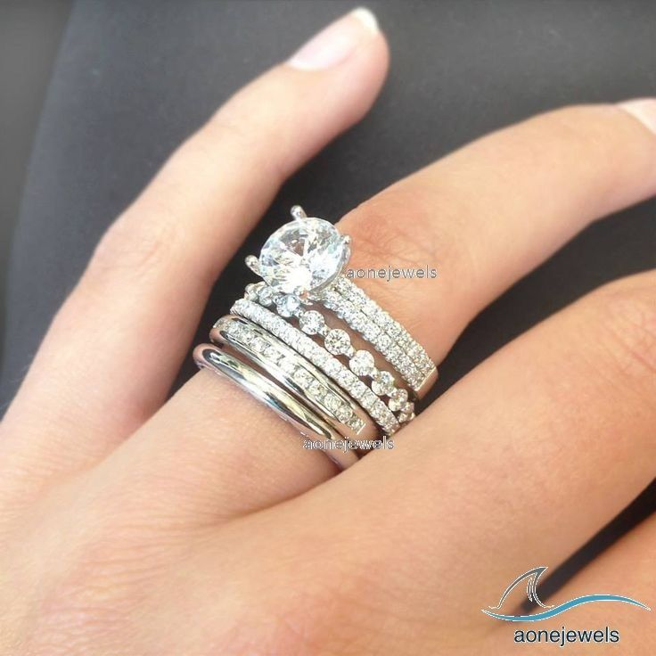 10k Mens And Womens White Gold Diamond Engagement Bridal Wedding