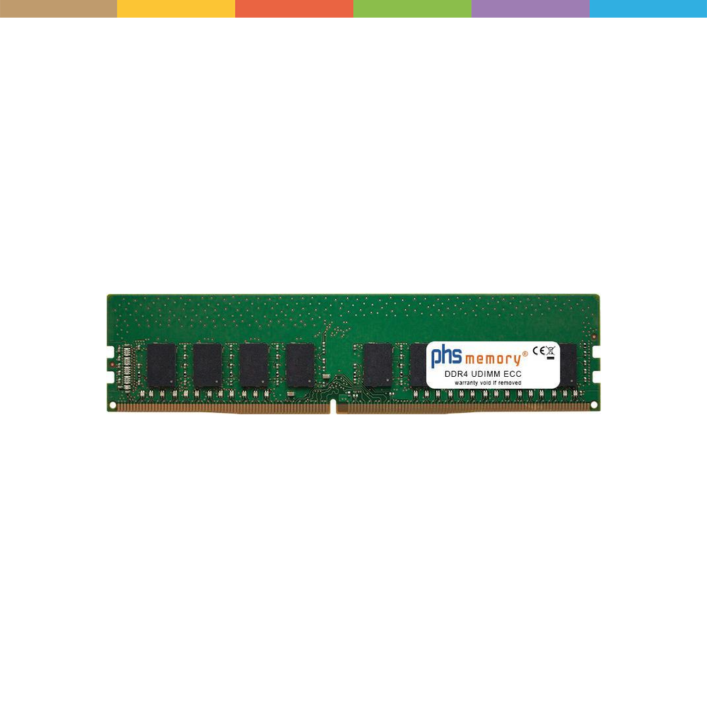 PHS-memory 8GB RAM Speicher für ASRock C246 DDR4 UDIMM ECC 2666MHz, RAM