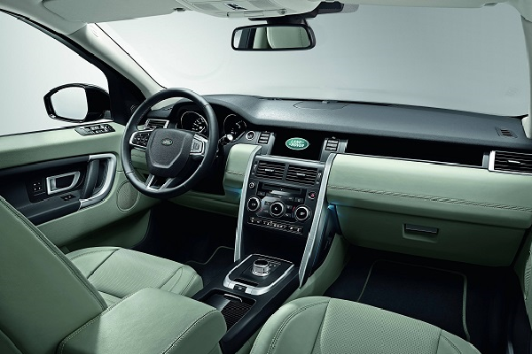 2016 Land Rover Discovery Interior