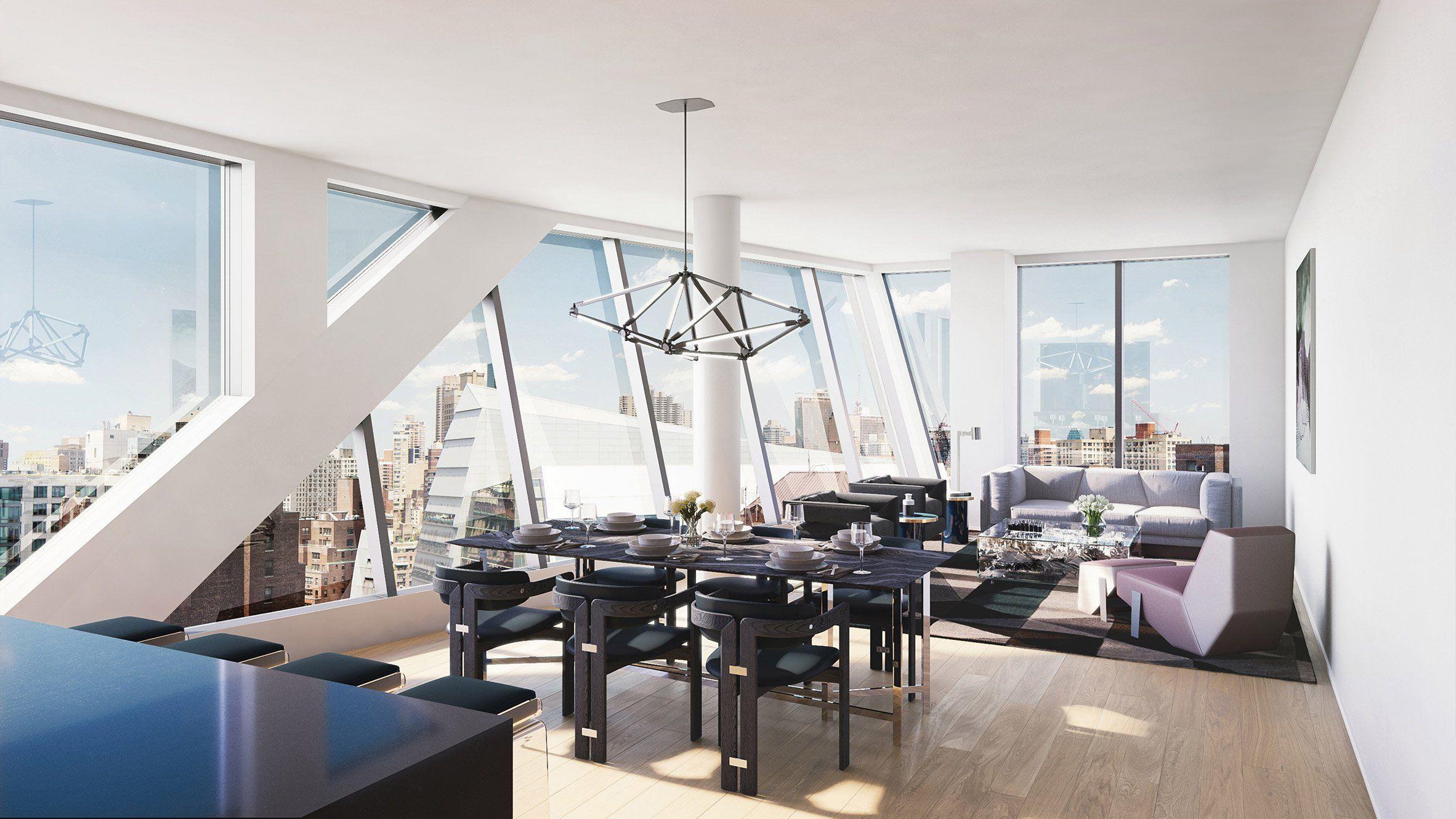 Rem Koolhaas has expressed his excitement at building in Manhattan