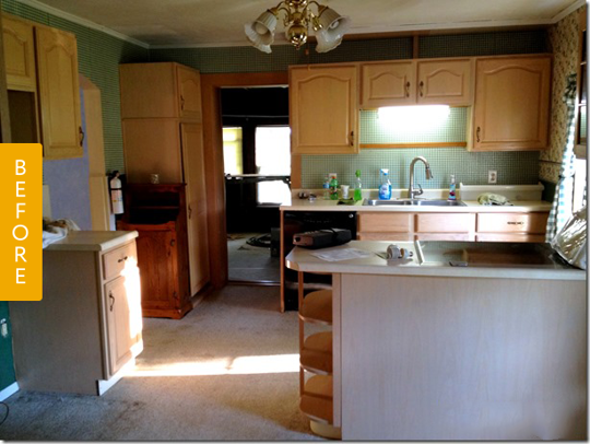 Before & After: A $1,500 Kitchen Makeover in 2020 | Kitchen ...