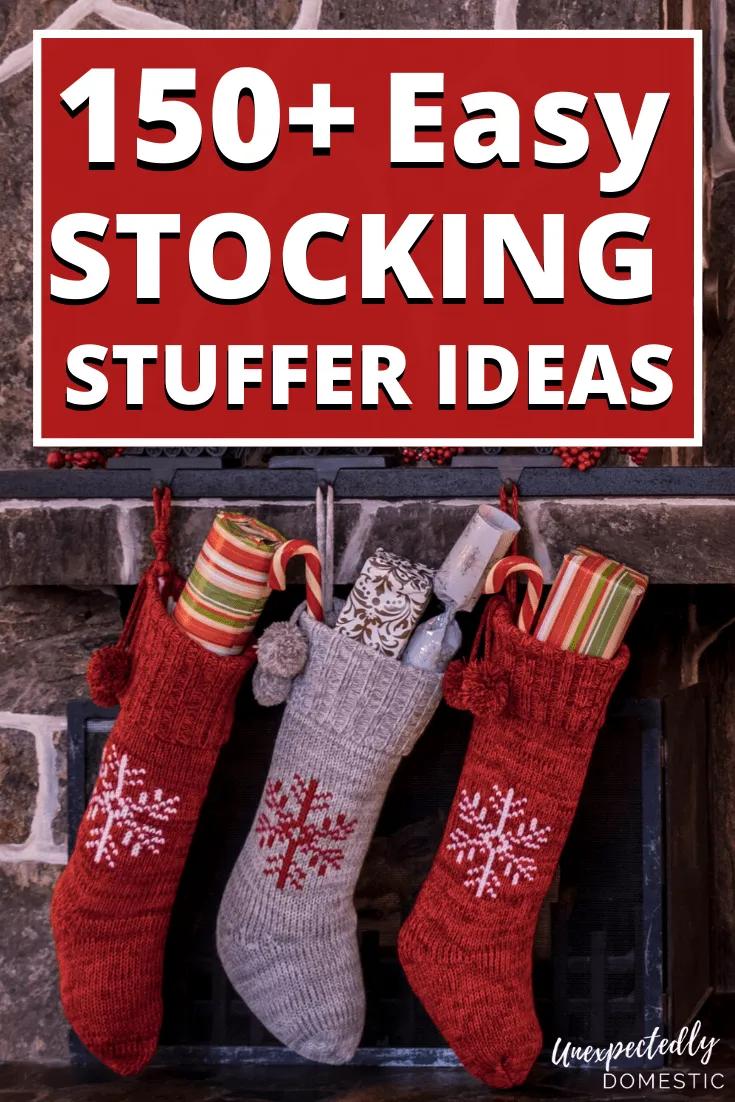 150+ GIANT List of Cheap Stocking Stuffer Ideas (for men, women, & teens!)