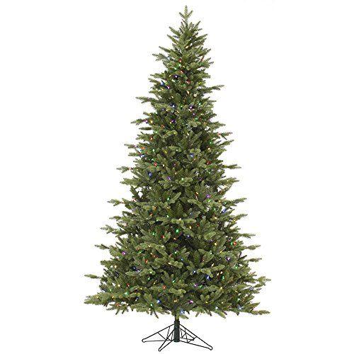 Vickerman Fresh Balsam Fir Artificial Christmas Tree with 1050 Multi