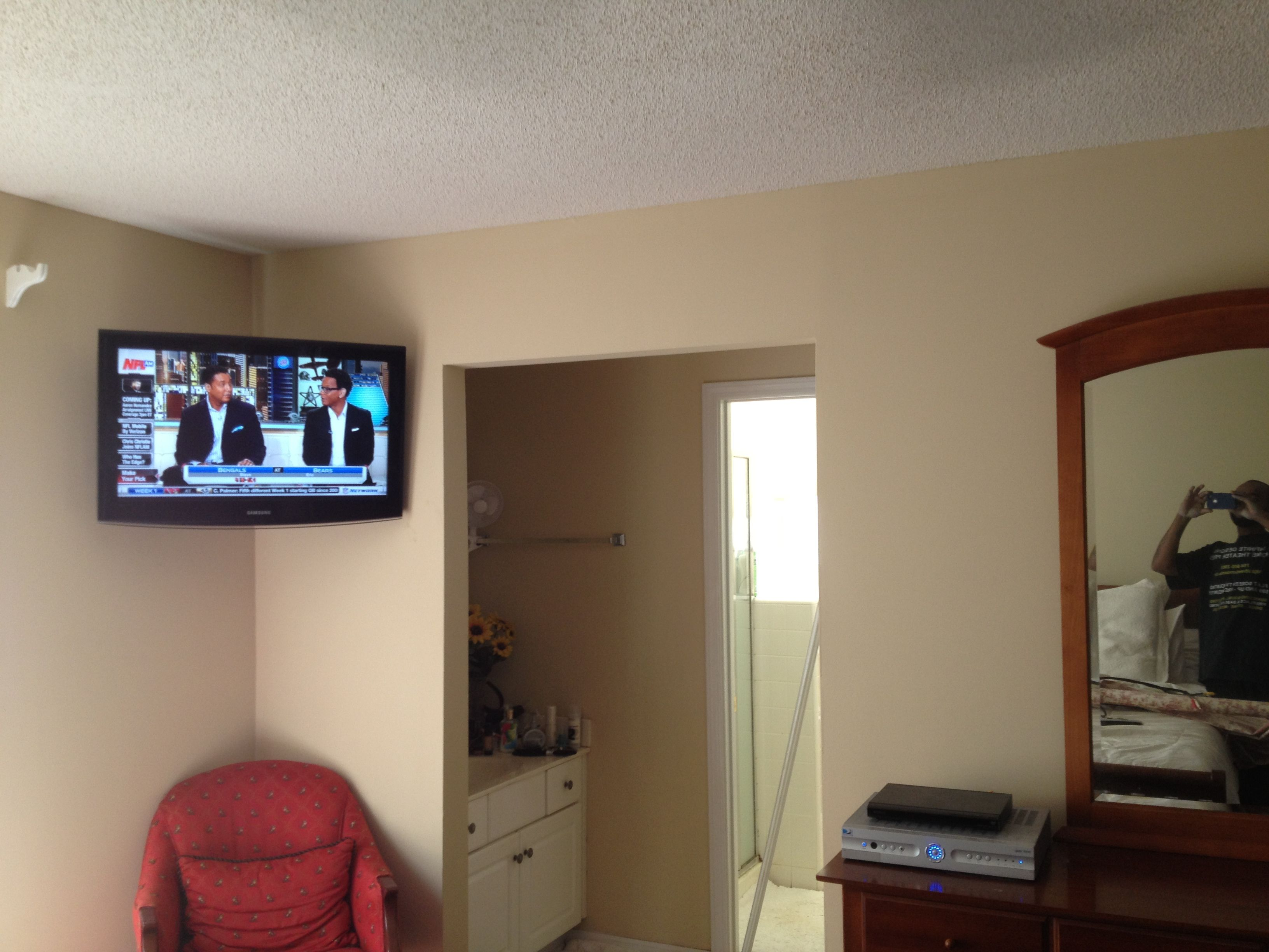 Charlotte Home Theater installation, projector, surround wiring, TV  mounting, Flatscreen TV,