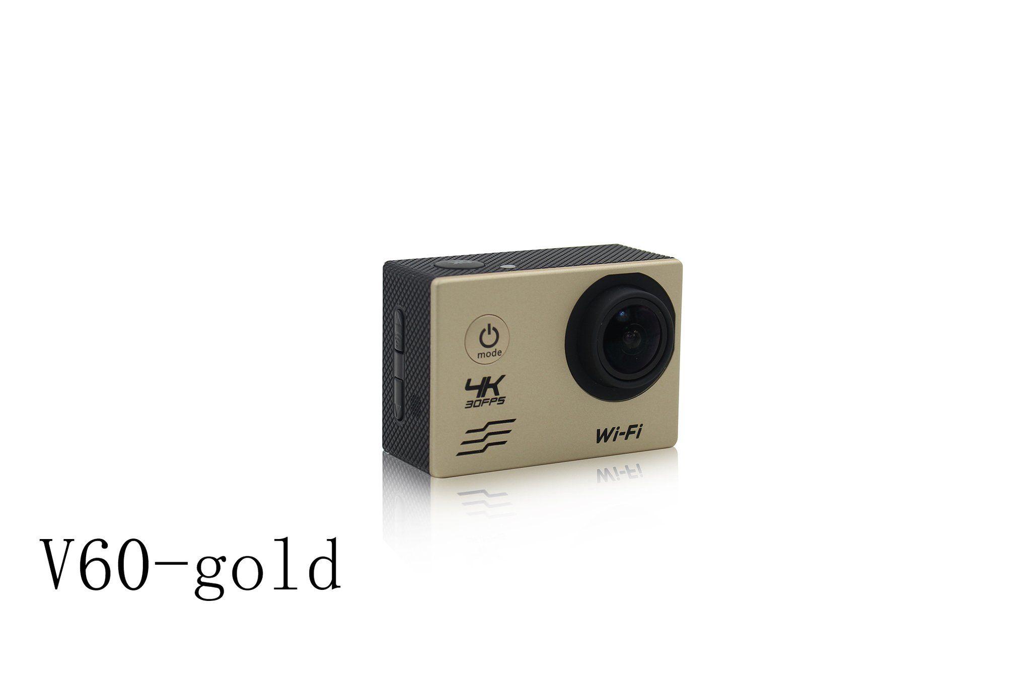 V60 4K Action Camera Sport Video Aerial graphy Camera Wi Fi Full HD Screen