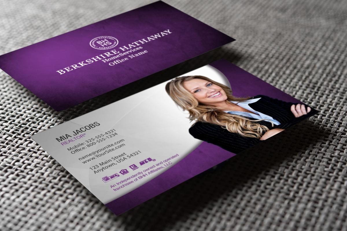 Berkshire Hathaway Realtors We Ve Got New Business Cards Just For You Realtor Berks Real Estate Business Cards Glossy Business Cards Business Cards Online