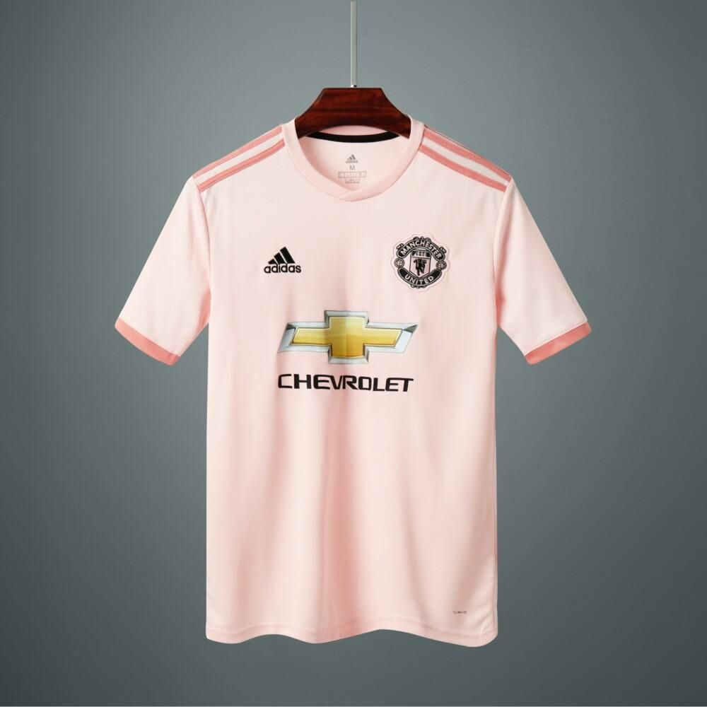 Manchester United Away Calcio Puma Soccer Club Kit 2018 19 Shirt Football Jersey Fussball Cami Camisa Manchester United Camisetas De Futebol Camisas De Times