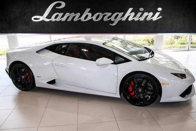 Cool Great 2015 Lamborghini Huracan Lp610 4 Coupe 2 Door Nav Rear