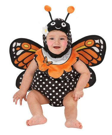 Take a look at this Black Monarch Butterfly Bubble Dress-Up Set - Infant by Just Pretend on #zulily today!