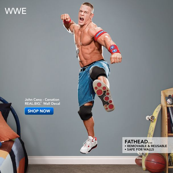 Beau John Cena Fathead Wall Decal