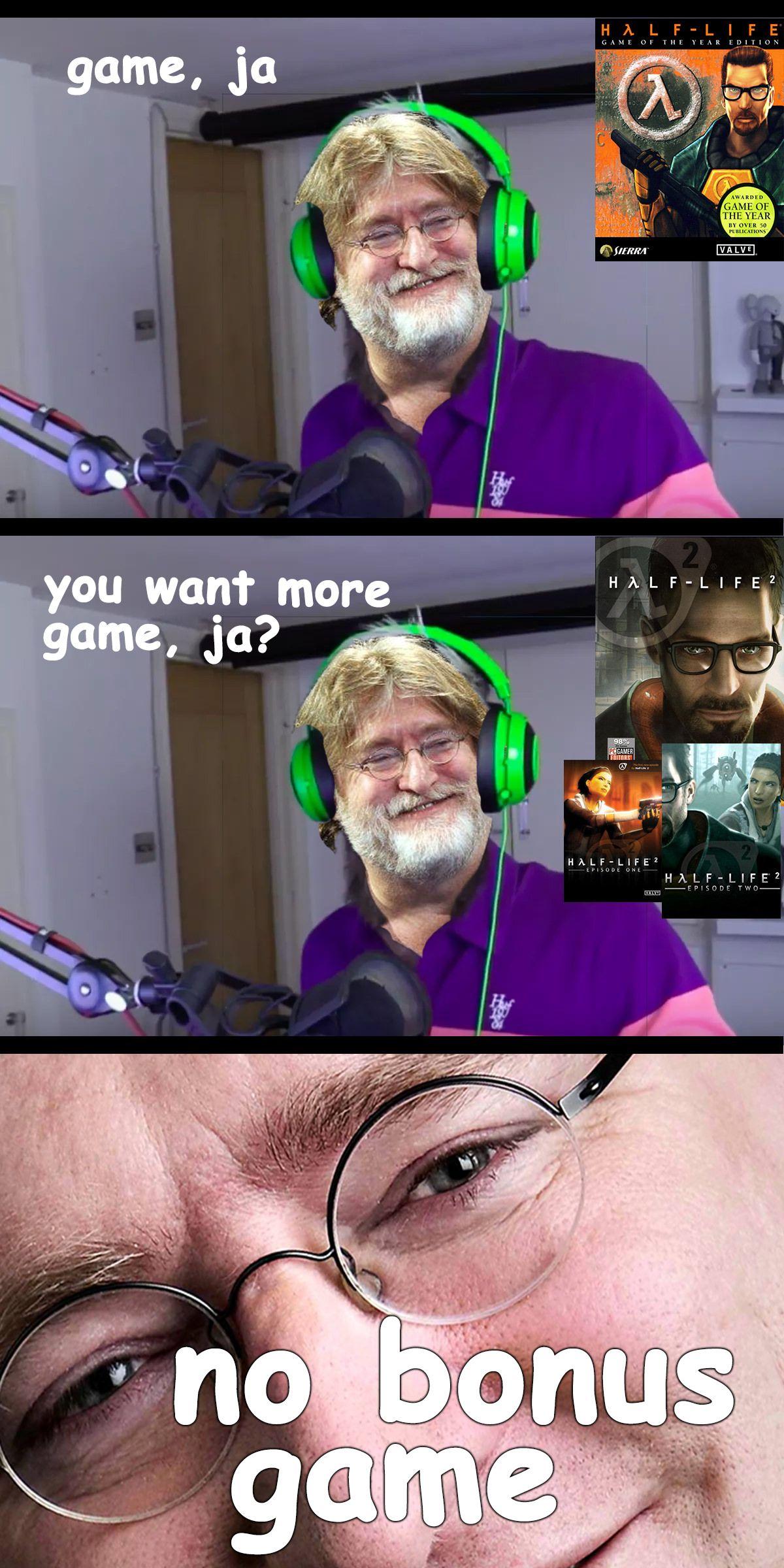 Bonus Meme 3 Confirmed Bonus Meme Half Life Game Video Games Games