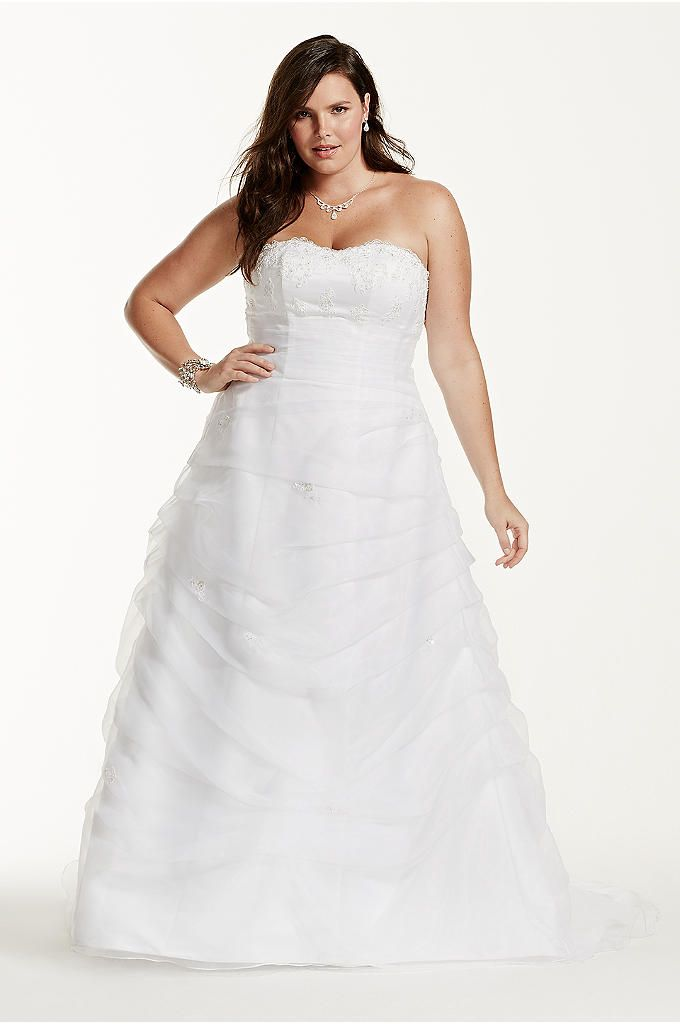 Plus Size Wedding Dresses Bridal Gowns Davids Bridal Weddings