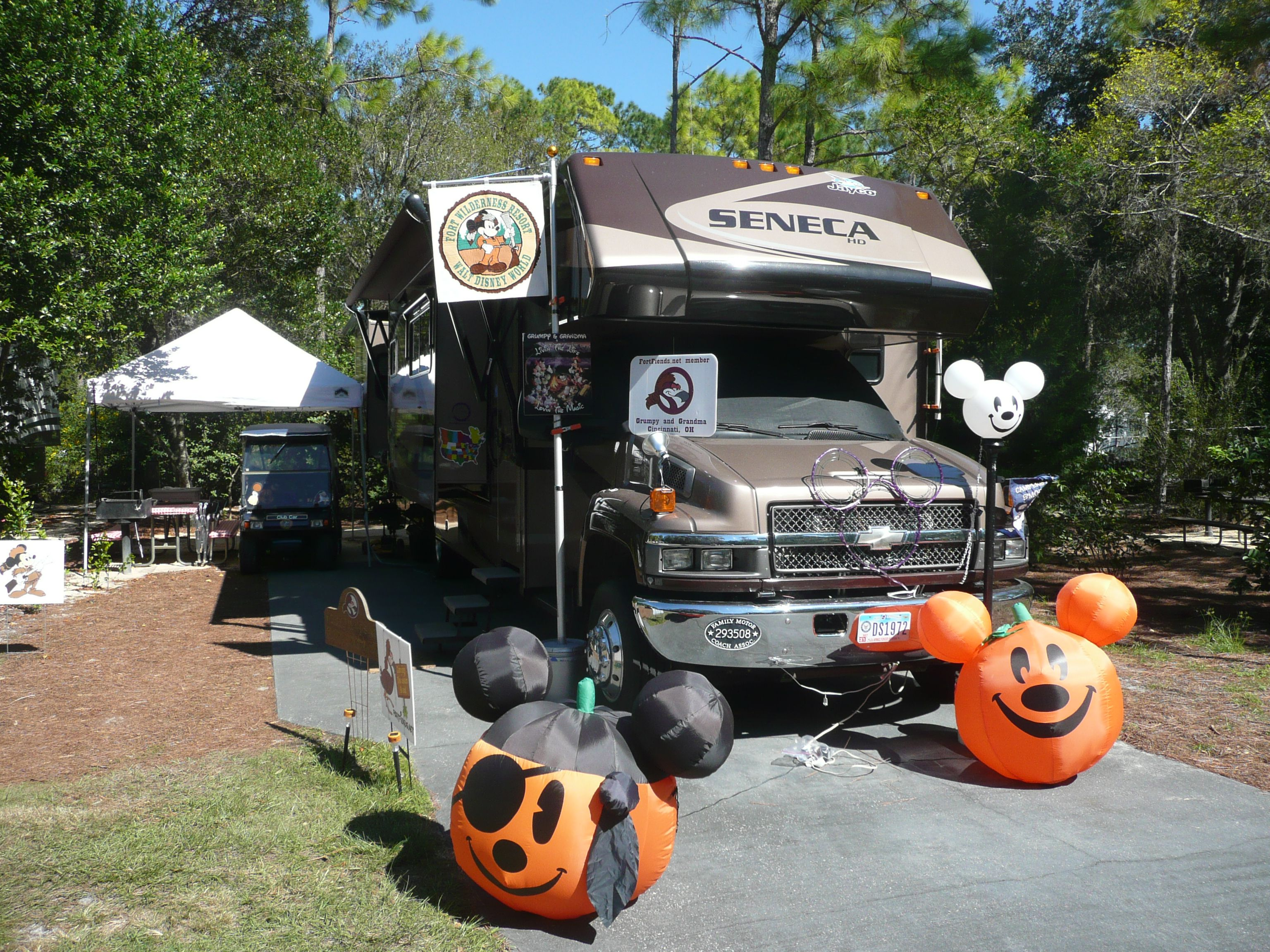 Fort Wilderness Halloween