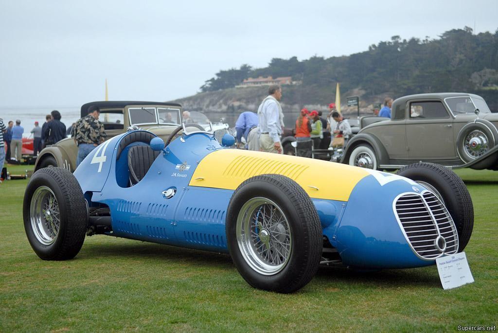 AIRE: Maserati 4CLT-48 Monoposto.J.M.Fangio(1948)