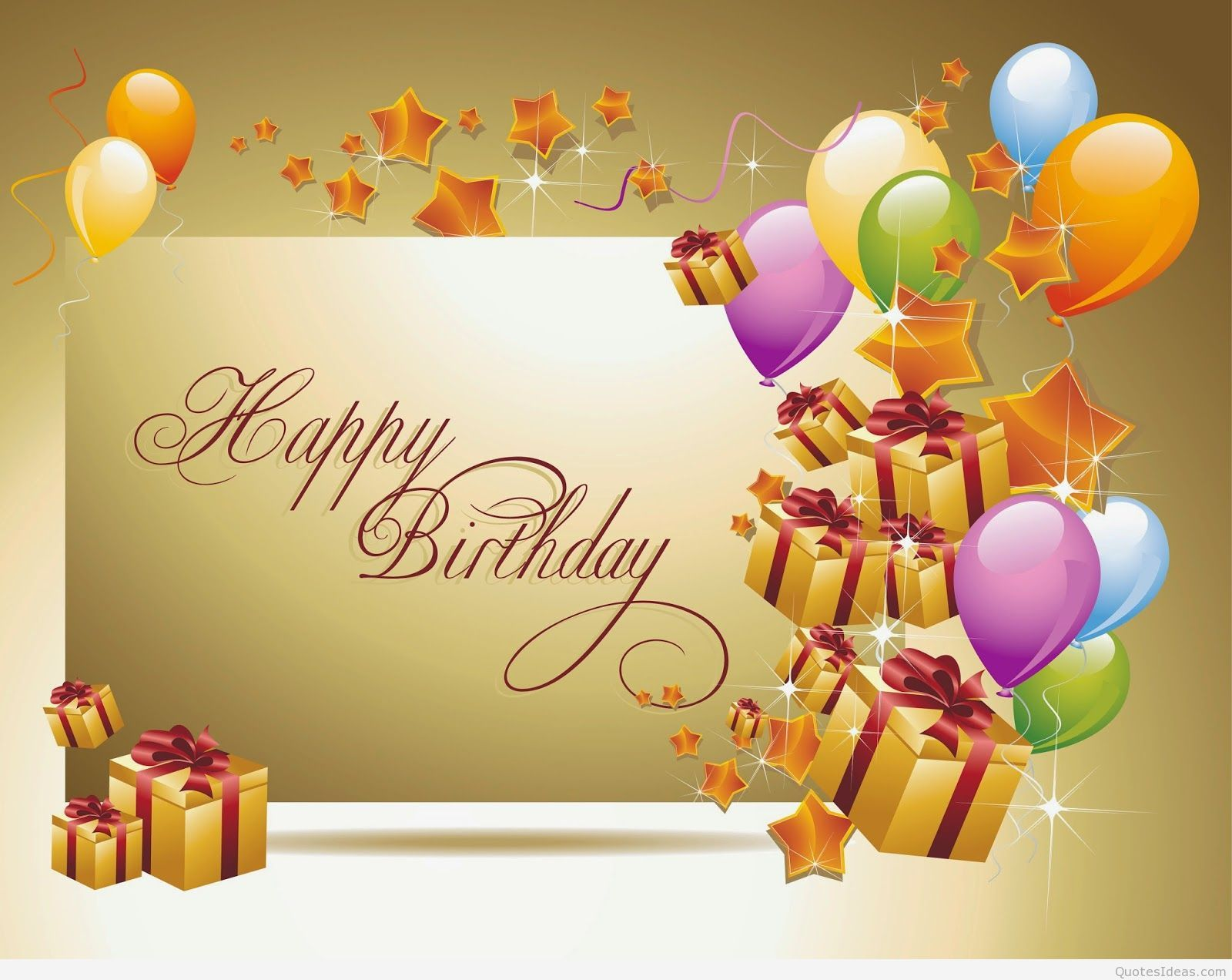 Happy Birthday Gift Wallpaper Jpg 1600a 1272 Y Pinterest