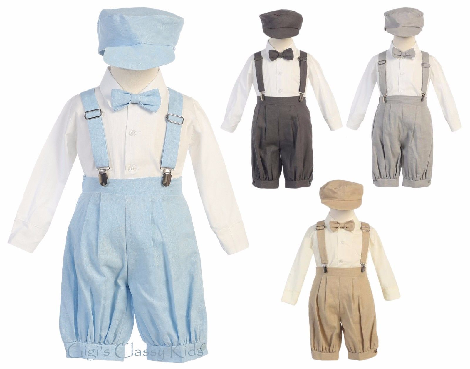 Toddler boy dress clothes for wedding  Outfits and Sets  New Baby Toddler Boys Knickers Vintage Suit