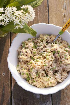 Tunfisch-Nudelsalat - super schnell und extrem lecker und mein Beitrag für alle lieben Pasta #summer