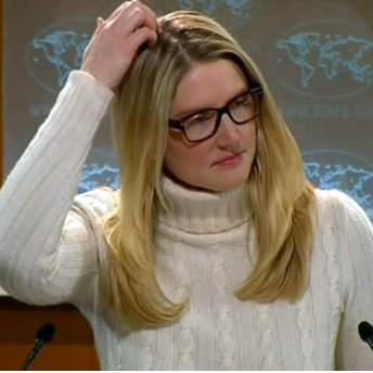 Did Marie Harf just say that even ISIS underestimated the spread of ISIS?