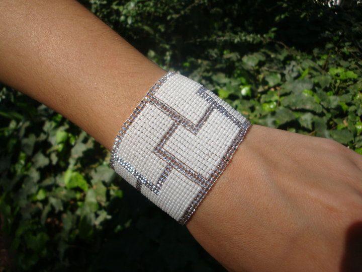 Pulseras tejidas con telar - Imagui | Pulseras | Pinterest