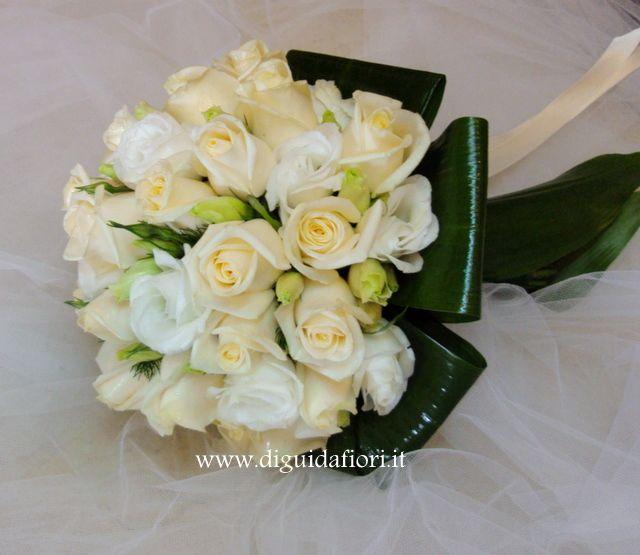 lisianthus bouquet sposa
