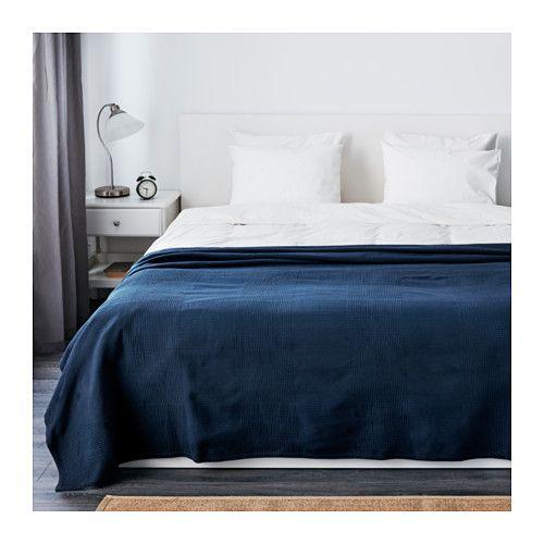 INDIRA Sengetæppe - 250x250 cm - IKEA