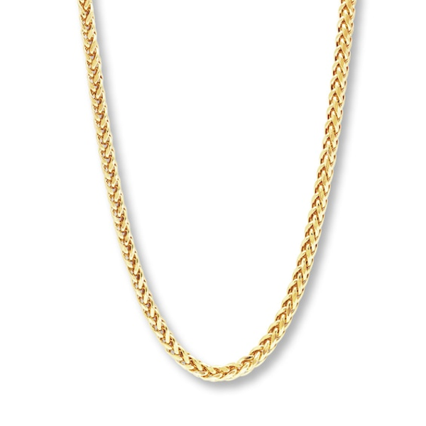 Beautiful Yellow gold 10K Leslies 10K 1mm Wheat Chain