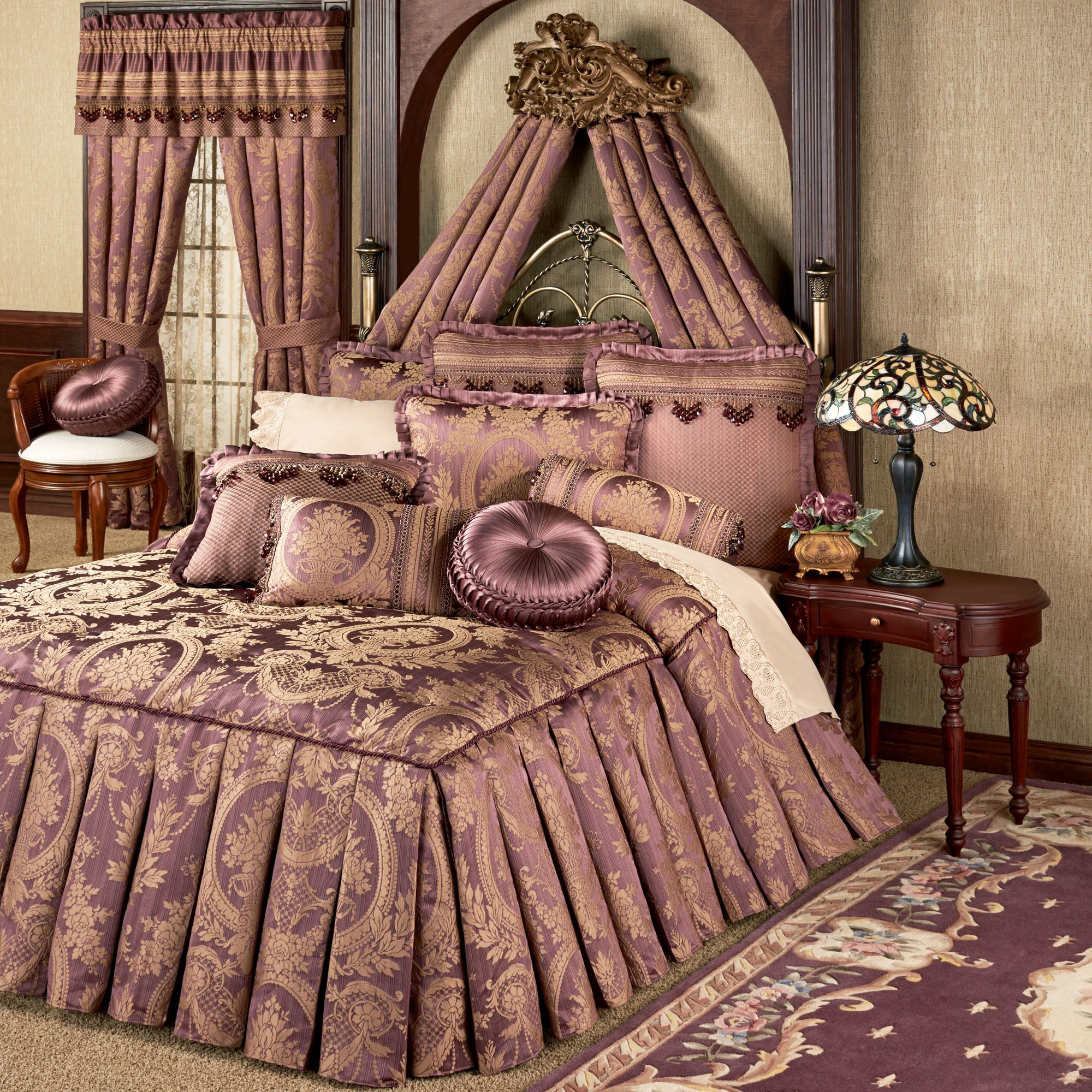 Josephine Tailored Oversized Queen Bedspread Bedding Elegant Bed Spreads Bed Linens Luxury Bed Spreads
