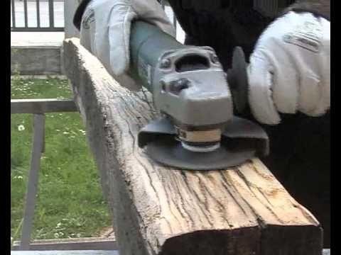 treibholzeffekt kaffee essig stahlwolle verwittertes holz diy youtube treibholzeffekt. Black Bedroom Furniture Sets. Home Design Ideas