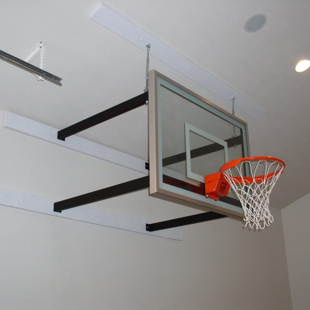 Wall Mounted Indoor Basketball Goal | http://bottomunion.com ...