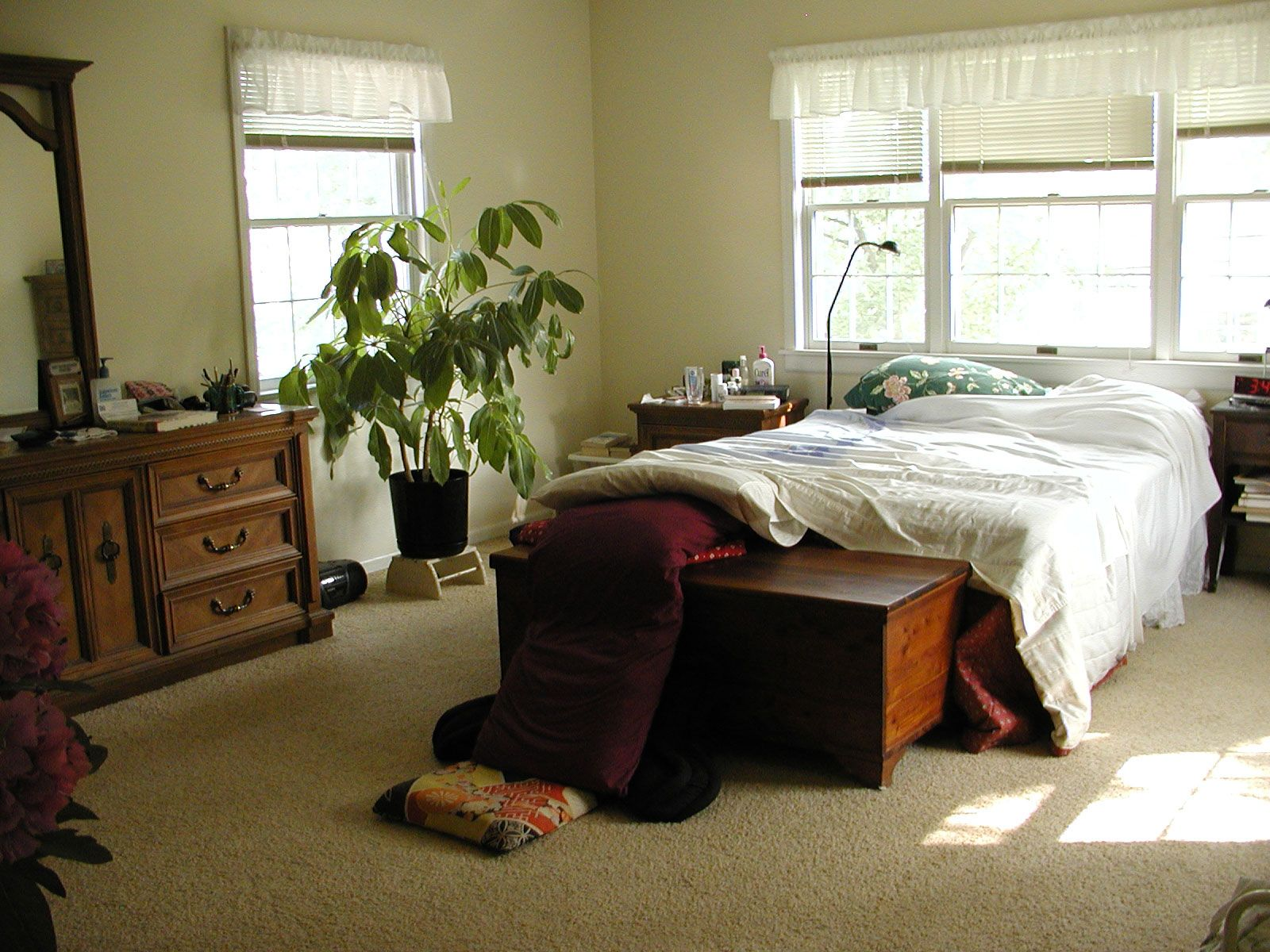 Coordinating Mismatched Bedroom Furniture