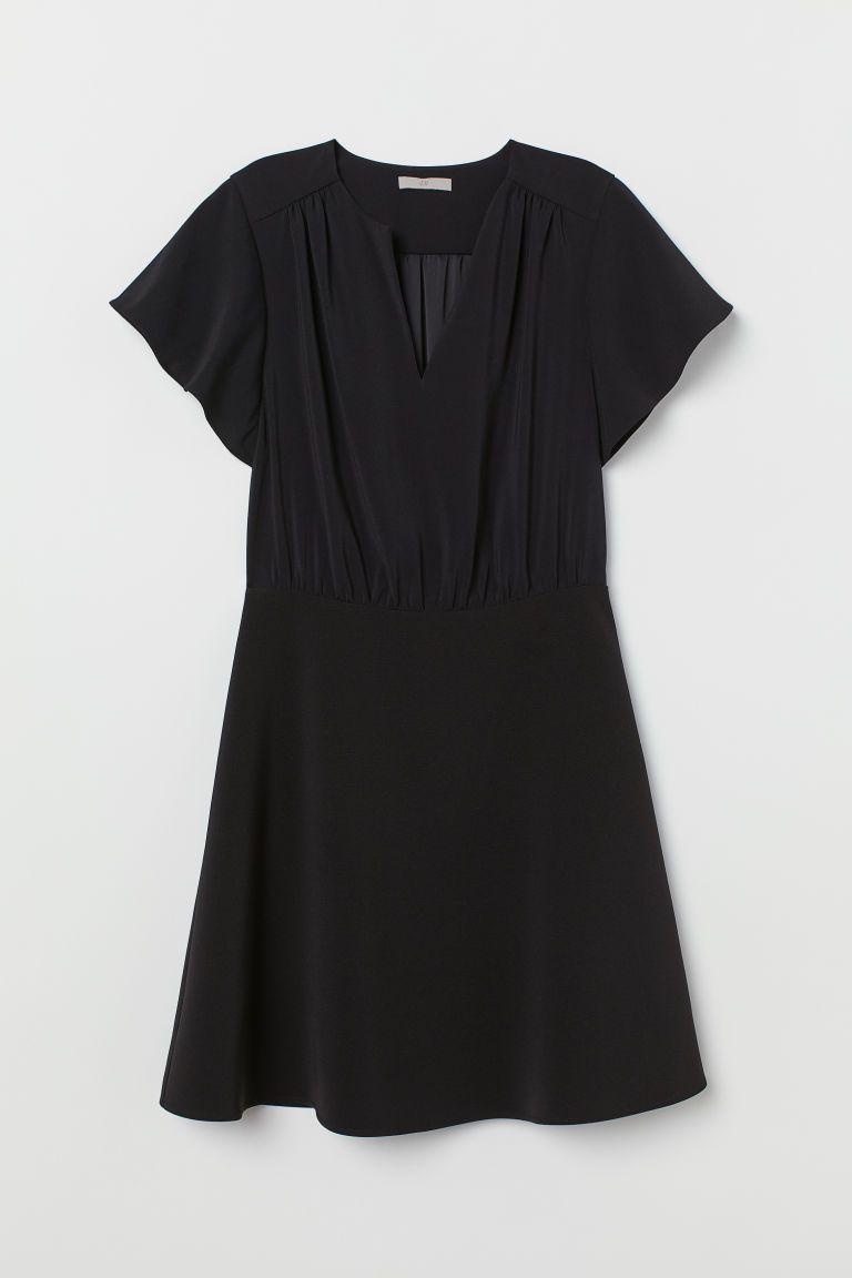 kort klänning dam