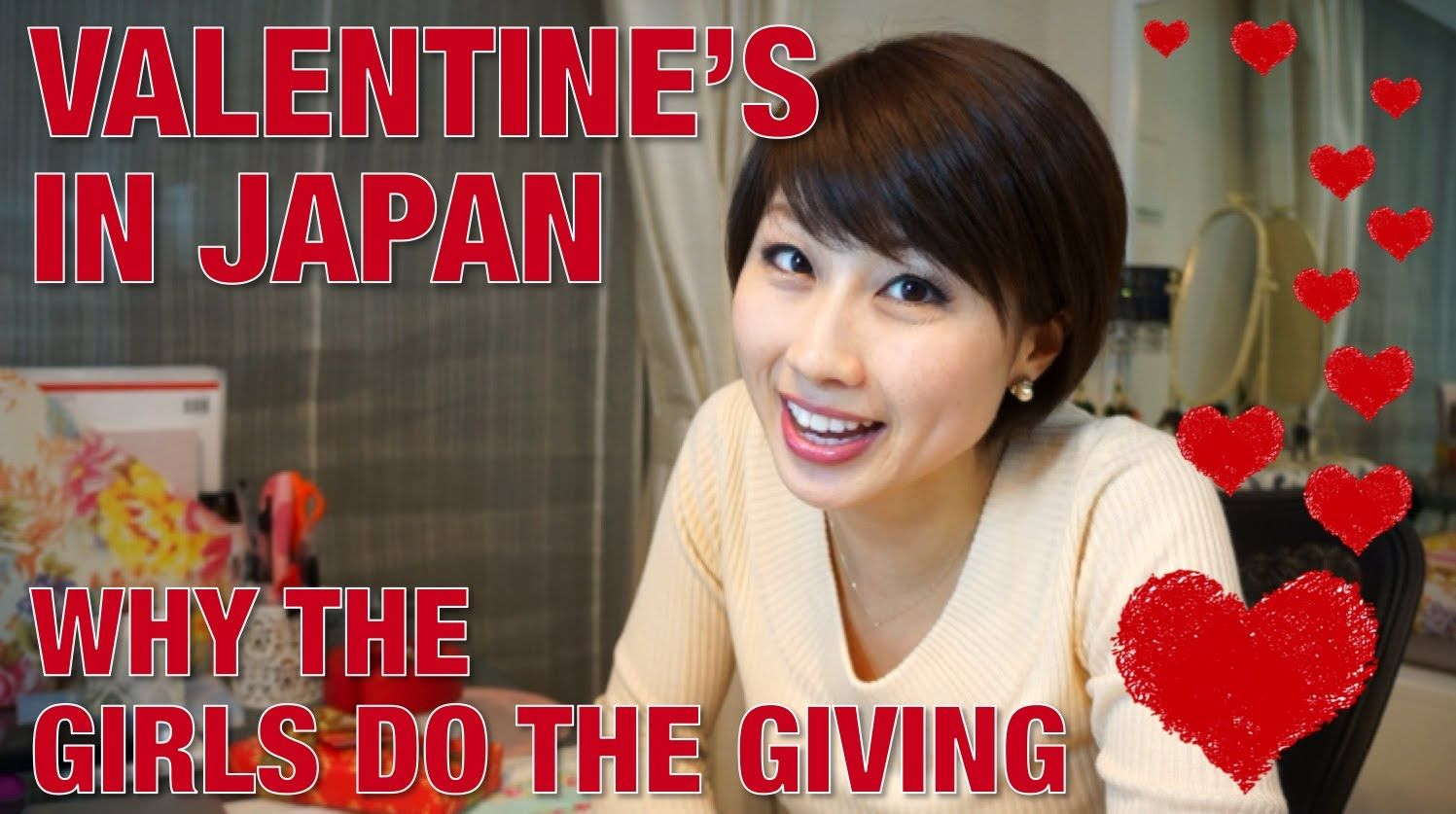 Valentine's Day in Japan - Why the girls do the giving☆