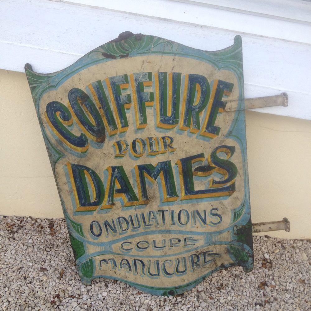 Bien-aimé Ancienne Enseigne De Salon De Coiffure | Enseignes/Signs | Pinterest QN32