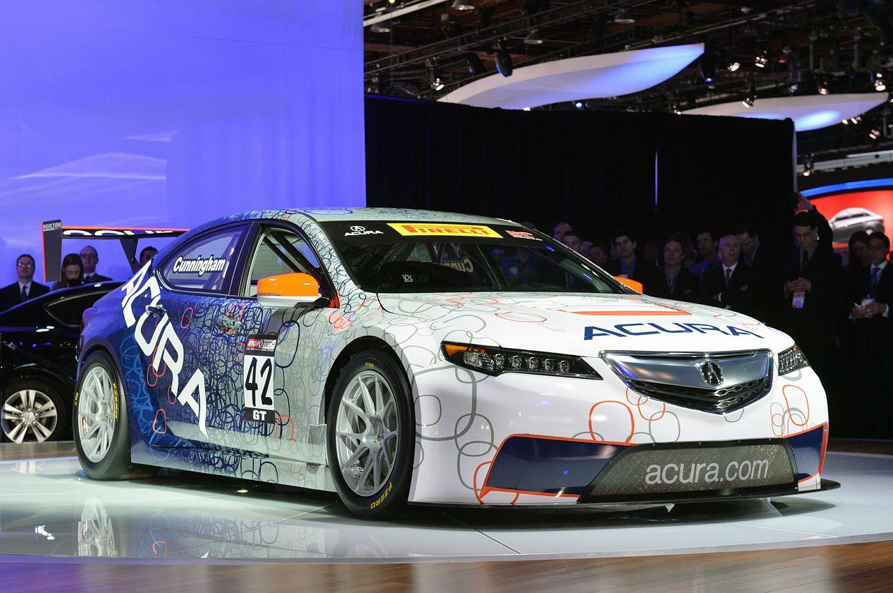 Acura TLX GT Racecar Detroit 2014 Photo Gallery Acura