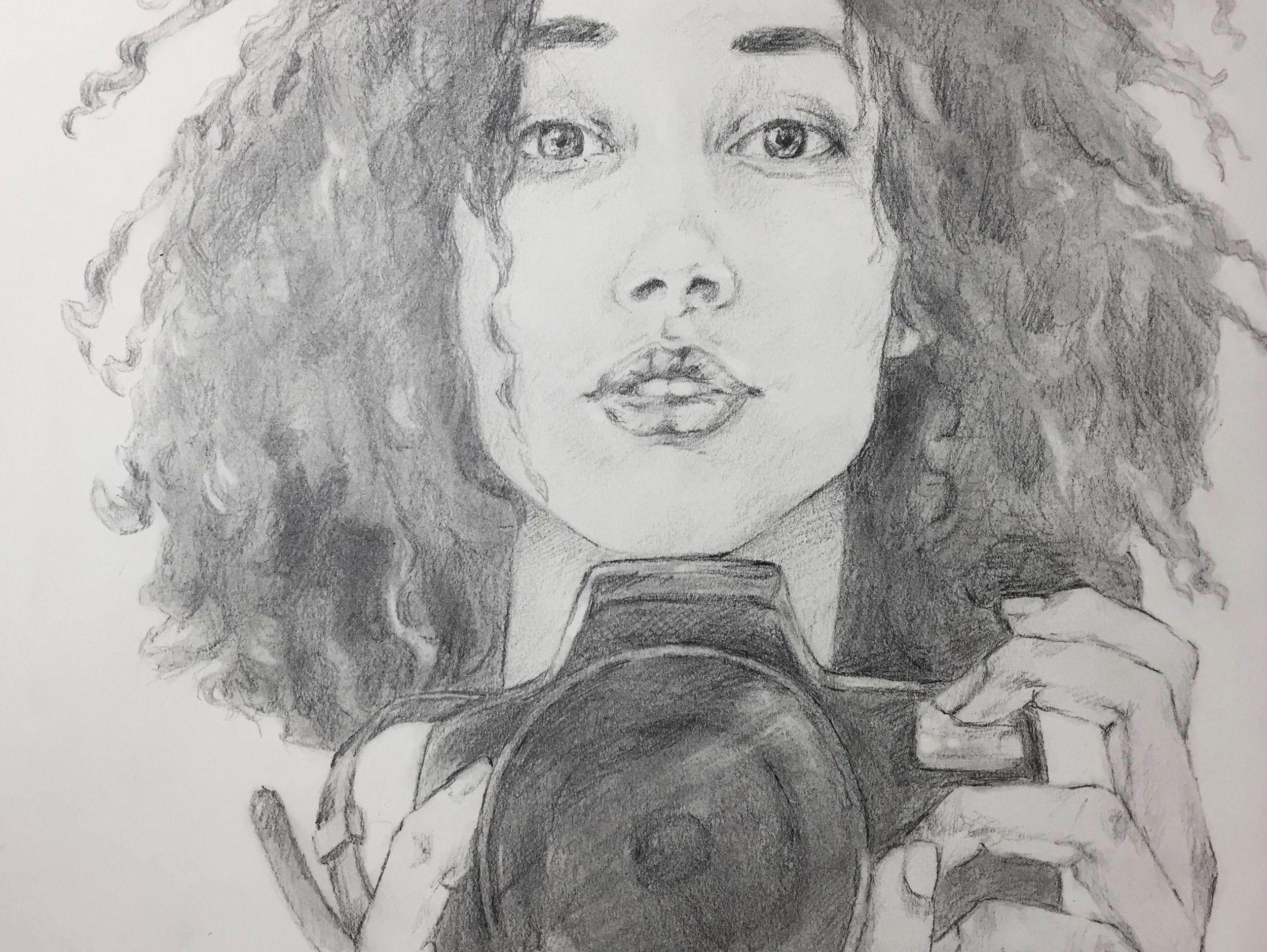 Sktchy30 presenting art pencil drawing portrait art photography woman artwork fine art