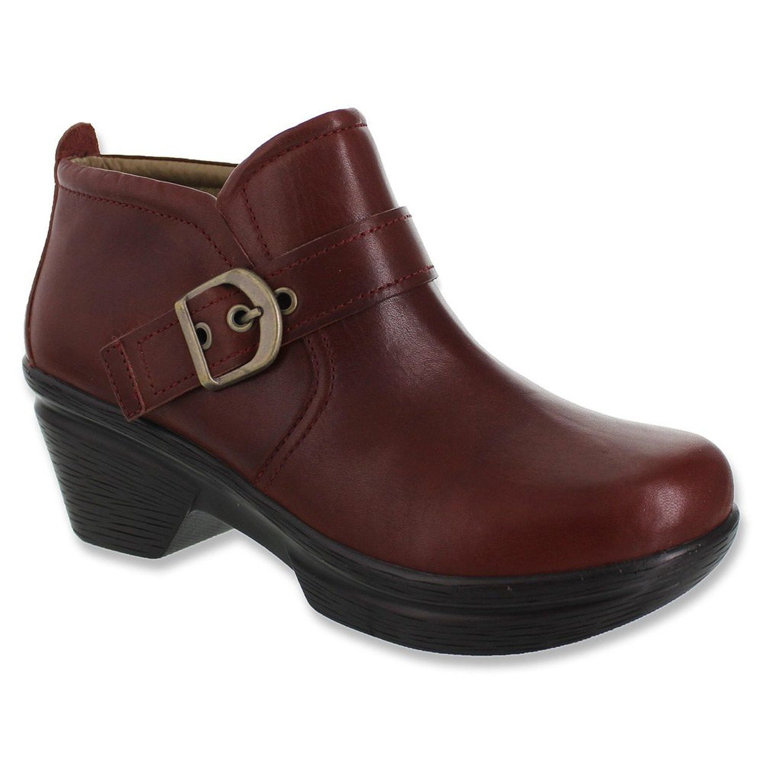Sanita Womens Boots Leather Norma Bordeaux Polished