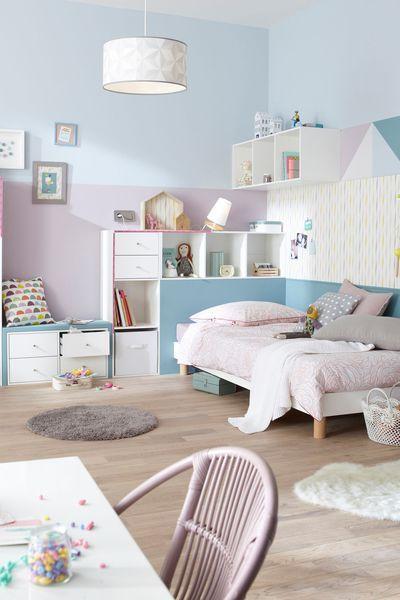 Quelles couleurs tendance pour repeindre la maison ? Idée chambre