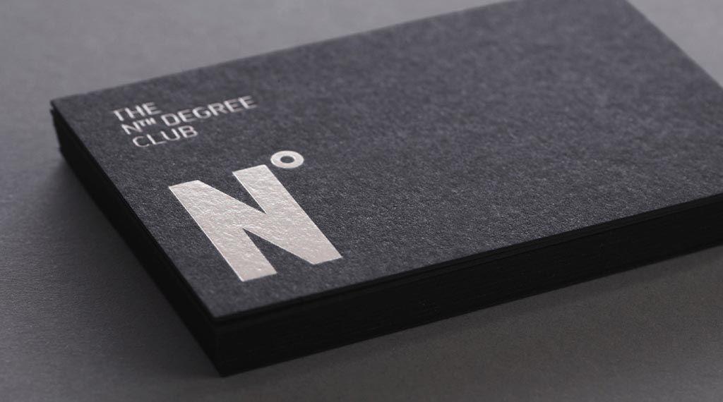 white ink on black card [repinned from Leslie Miller] | packaging + ...