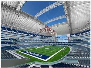 The Dallas Cowboys Stadium<3
