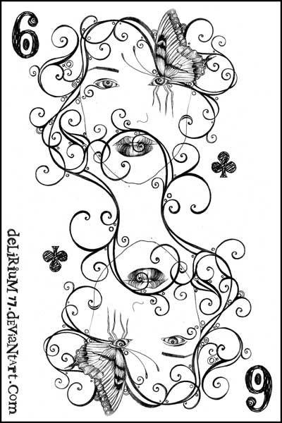6 of clubs by vasodelirium.deviantart.com on @deviantART
